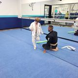 Martial Arts boy and man