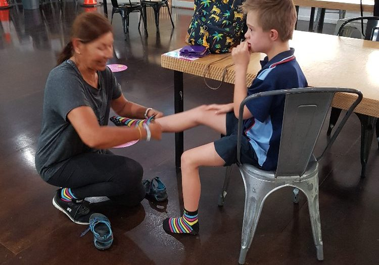 bec&call helps boy with personal care services
